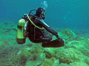 Ejercicio de flotabilidad neutra