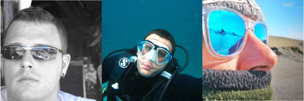 Buceando en las Islas Canarias.
