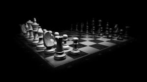 Tablero de ajedrez. La planificación.