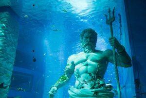 Poseidón en la profundidad