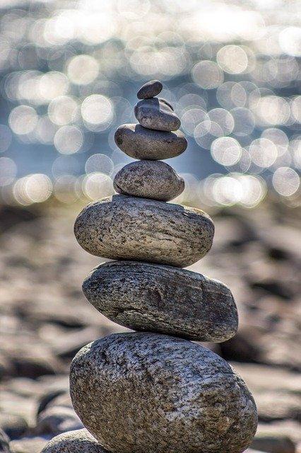 Agrupación de piedras