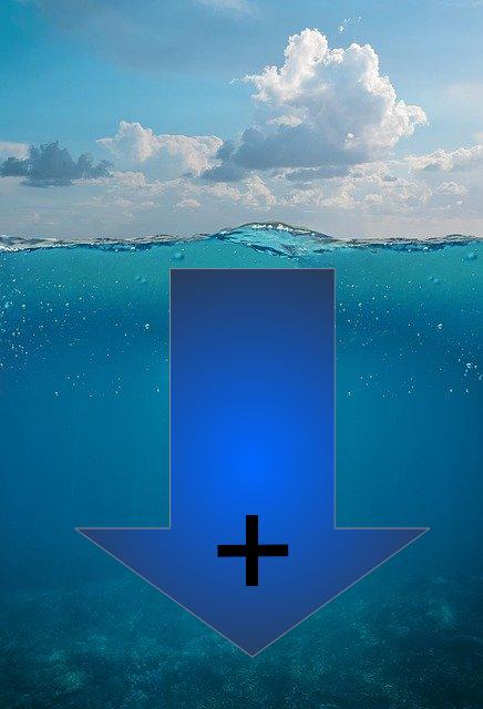La profundidad para la navegación
