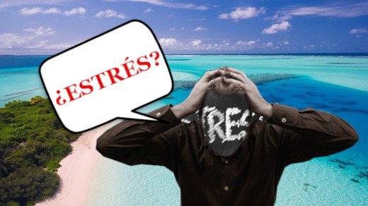 El estrés en una inmersión de buceo