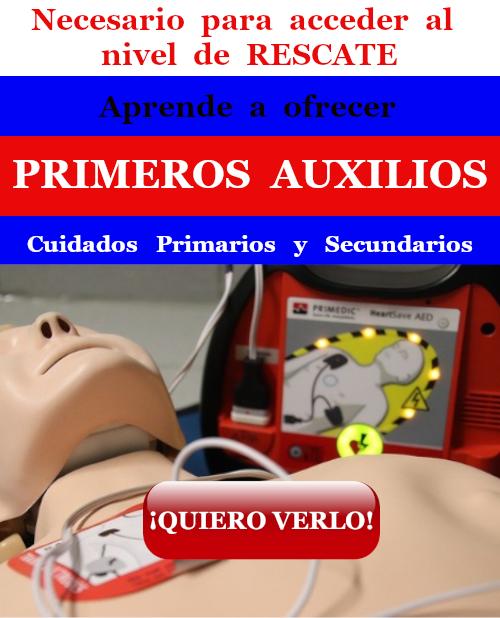 Primeros Auxilios: primarios y secundarios